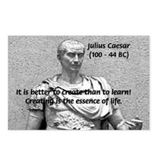 Roman Conqueror: Julius Caesar Postcards (Package