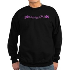 Wyoming Hibiscus Sweatshirt