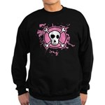 Fishnet Skull Sweatshirt (dark)