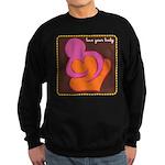 Love Your Body Sweatshirt (dark)