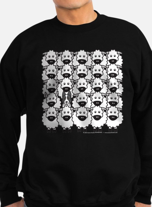 Border Collie and Sheep Sweatshirt