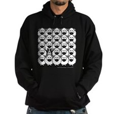 Border Collie and Sheep Hoodie