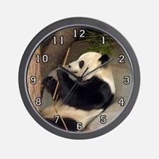 Giant Panda Bear 015 Wall Clock