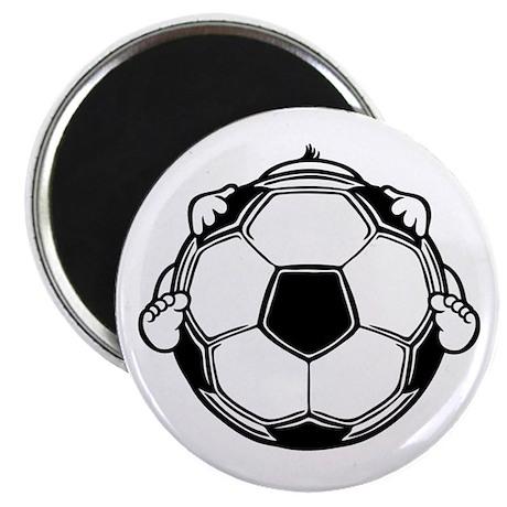 """Soccer Baby 2.25"""" Magnet (10 pack)"""