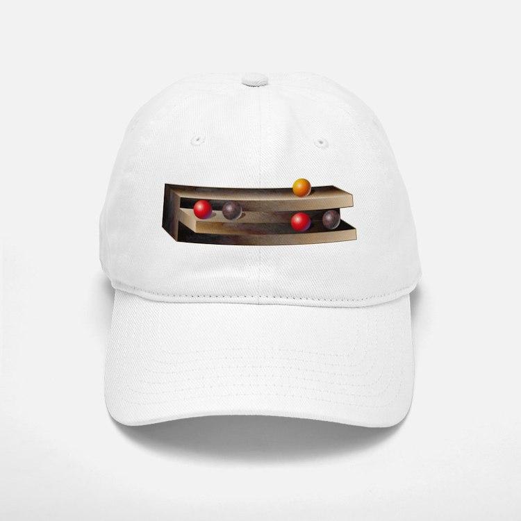 Optical Shelves Baseball Baseball Cap