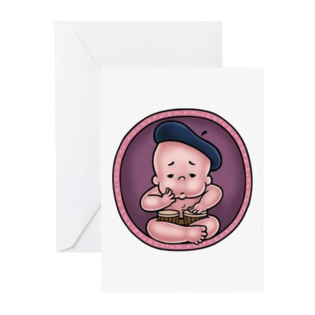 Womb-Beat Greeting Cards (Pk of 10)