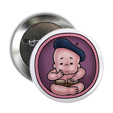 """Womb-Beat 2.25"""" Button (10 pack)"""