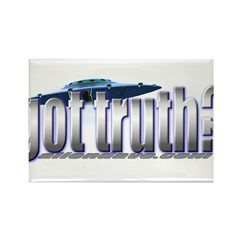 got truth? Rectangle Magnet