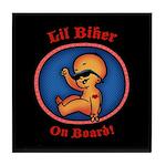 Lil Biker Tile Coaster