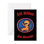 Lil Biker Greeting Cards (Pk of 10)