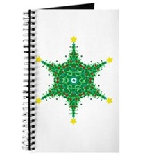 Christmas Snowflake (on white Journal