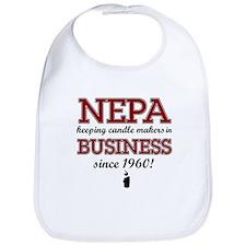Funny Nepa designs Bib