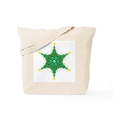 Christmas Snowflake (on white Tote Bag