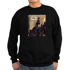 Mom's Dobie (#1) Sweatshirt (dark)