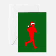 Christmas Runner Greeting Card