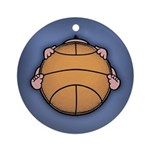 Basketbaby Ornament (Round)