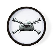 Cooper Crossbones Wall Clock