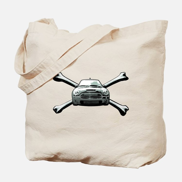 Cooper Crossbones Tote Bag