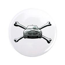 "Cooper Crossbones 3.5"" Button"