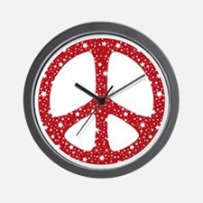 Cute Christmas hippie Wall Clock