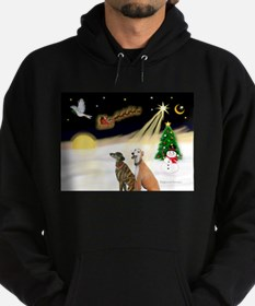 Night Flight/2 Greyhounds Hoodie