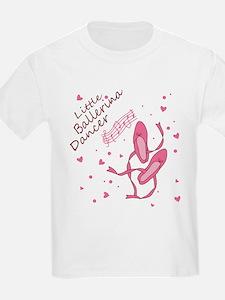Little Ballerina Dancer T-Shirt