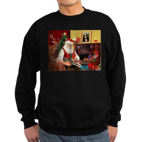Santa's Ital.Greyt (6) Sweatshirt (dark)