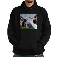 Creation/Black Lab Hoodie