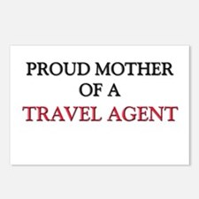 Proud Mother Of A TREASURER Postcards (Package of