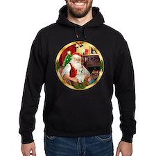Santa's Maltese 11 Hoodie