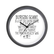 Nursing School like Birth Wall Clock