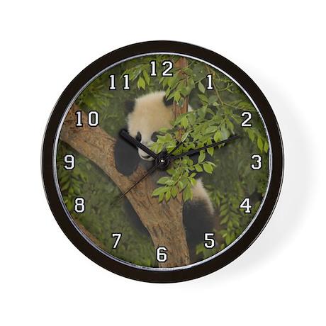 Giant Panda Bear SD 004 Wall Clock