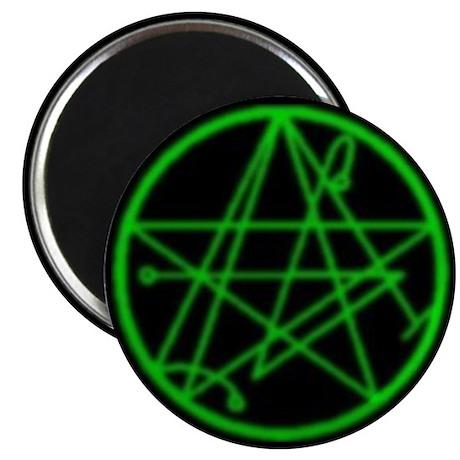 """Elder Sign 2.25"""" Magnet (10 pack)"""
