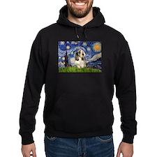 Starry Night PBGV (#4) Hoodie