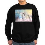 Dog Angel / Pit Bull Sweatshirt (dark)