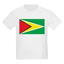 Guyana Flag Kids T-Shirt
