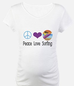 Peace Love Surfing Shirt