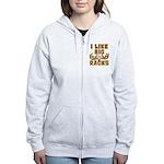 I Like Big Racks Women's Zip Hoodie