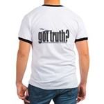 got truth? saucers Ringer T