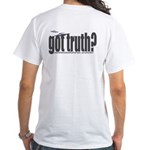 got truth? saucers White T-Shirt
