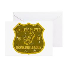 Ukulele Drinking League Greeting Cards (Pk of 10)