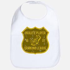 Ukulele Drinking League Bib
