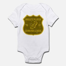Ukulele Drinking League Infant Bodysuit