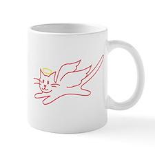 White Angel Kitty Mug