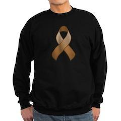 Brown Awareness Ribbon Sweatshirt