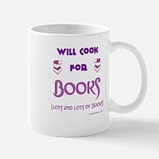 Will Cook For Books Mug