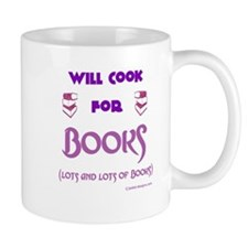 Will Cook For Books Mug
