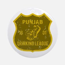 Punjab Drinking League Ornament (Round)