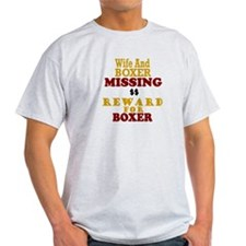 Wife & Boxer Missing T-Shirt