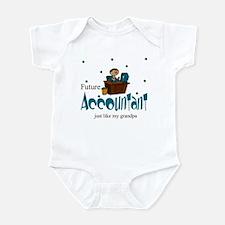 Future Accountant Like Grandpa Infant Bodysuit